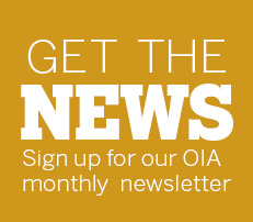 OIA Newsletter sign up