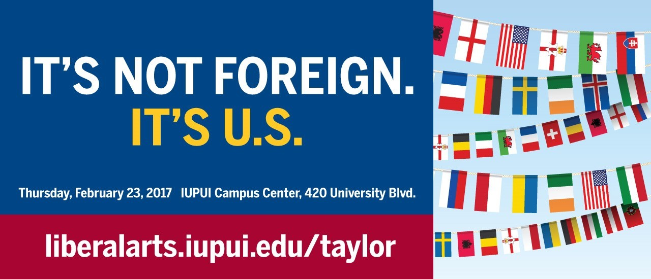 taylor symposium and flags