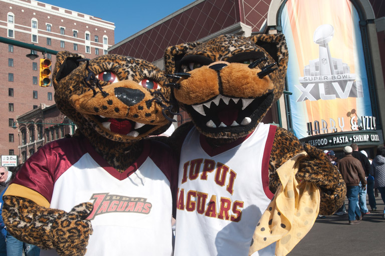Jaw and Jinx, IUPUI mascots