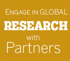 Engage in global research with international partner institutes